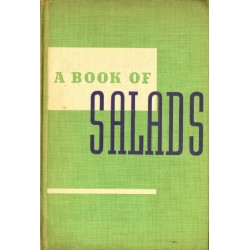 THE EDGEWATER BEACH HOTEL. SALAD BOOK. CONTAINS RECIPES THAT HAVE TAKEN YEARS OF RESEARCH TO COLLECT...