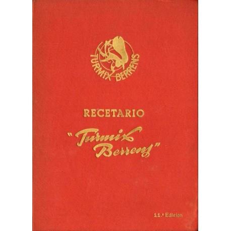 "RECETARIO ""TURMIX BERRENS"""